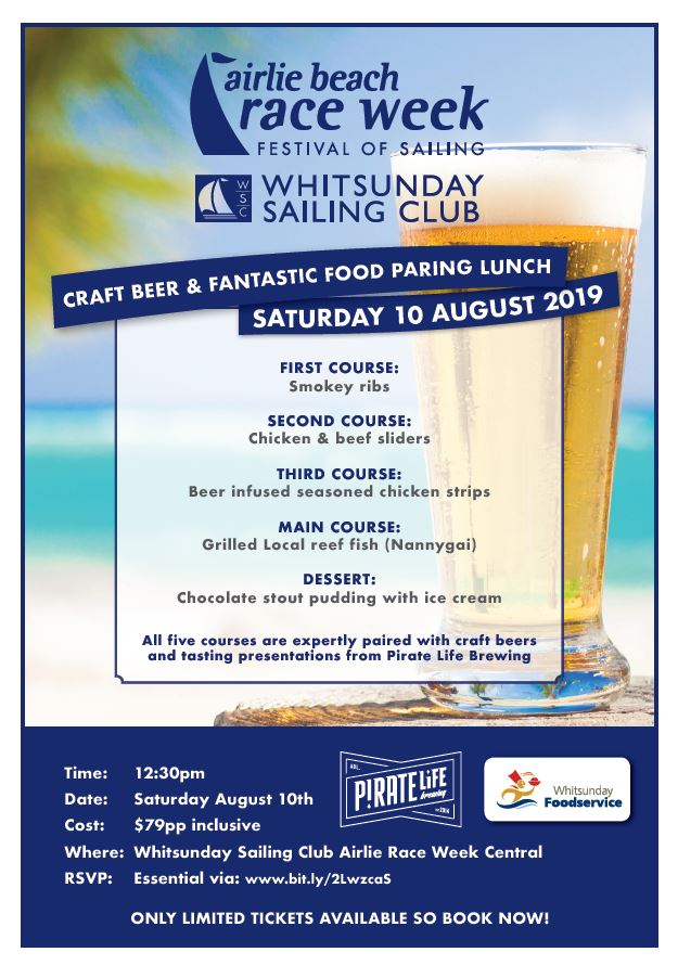 AIRLIE BEACH RACE WEEK - Whitsunday Foodservice